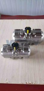 China Double Acting Stainless Steel Pneumatic Actuator SS304 SS316 Material on sale
