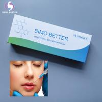 China HA Syringe Injectable Dermal Fillers Non Surgical Liquid Gel Cross - Linked on sale