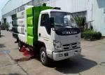 Mini Broom Road Sweeper Truck 4m3 3m3 Forland RHD LHD Street Sweeper Machine