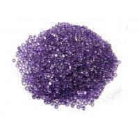 Untreated Natural Amethyst Gemstones , Loose Gemstones Pendants