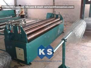 China Customized Adjustable Wire Tension Device Winding Machine Gabion Box Production Line on sale