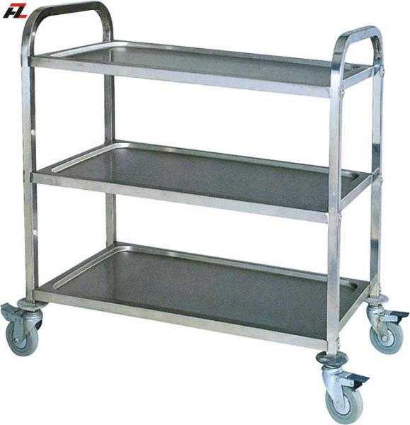 Stainless Steel Kitchen Cart With Brakes Service Images