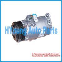 CVC car ac compressor for OPEL Astra G 1.8 Corsa 1.2 Vauxhall Meriva A 24464152 6854013 93176855 93176877 6pk 109 mm