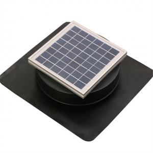 China Easy Operated Solar Roof Ventilator 6W 8 Inch Keep House Dry & Comfortable on sale