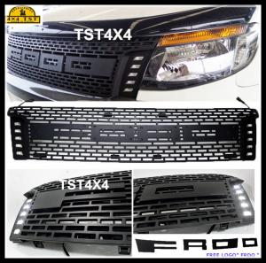 China ABS Black Front Grill Guard for 2012 Ford Ranger T6 pickup Ford Bumper Guard on sale