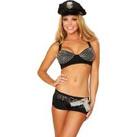 Glamour Police Woman Costume Adult Costumes for Carnival Christmas Halloween
