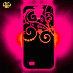 China Silk printed Cell Phone iPhone 4S Protective Cases , glow in the dark phone covers on sale