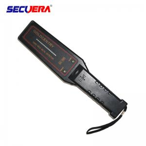 China Automatically security Hand Held Metal Detector 22 KHZ Frequency With 12 Months Warranty handheld body scanner on sale