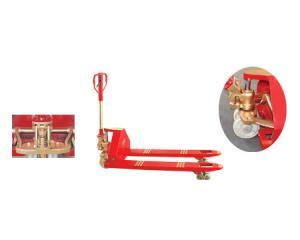 China Non-Sparking Safety Manual Pallet Truck Pallet Jack Copper Beryllium on sale