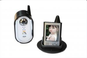 China カラー ビデオのタッチ画面が付いている2.4GHzによって活字を手で組まれる無線通話装置のドアの電話 on sale