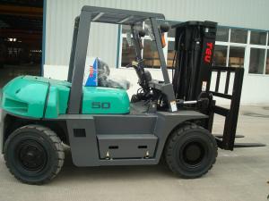 China 5.0 ton diesel forklift truck VS Toyota 5 ton diesel forklift TCM 5 ton diesel forklift price on sale