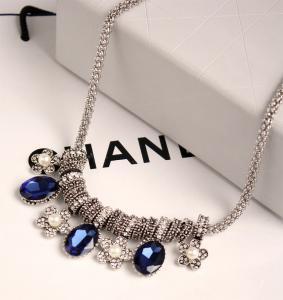 China MYLOVE flower shape necklace statement jewelry opal necklace on sale