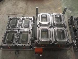 China High Speed Household Injection Molding Molds Plastic Thin Wall Container Mold on sale