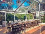 China Luxury Outdoor Wedding Tent / Flame Retardant Aluminum Party Tents wholesale