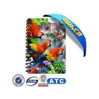 China 3d notebook cover on sale