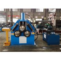 China Hydraulic Profile Bending Machine , Angle Roll Bending Machine Stable Performance on sale
