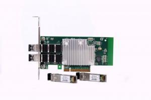 China PCI Express 10G Dual Port Fiber Lan cards ,Intel82599ES Chipset ,Dual Port SFP+ ,LC on sale
