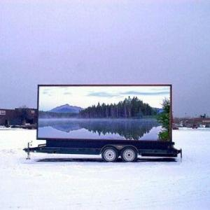 China High Definition Virtual P12 Full Color Electronic Outdoor Advertising LED Display Screen on sale