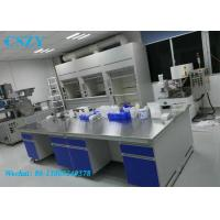 China L*750(D)*850(H)mm hospital chemistry laboratory furniture work bench for pcr lab on sale