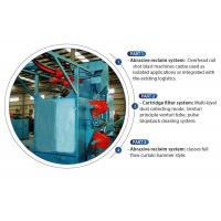 Q37 Series Hook Type Shot Blasting Machine Features No Pit For Surface Cleaning