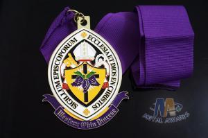 China Imiation Hard Enamel Or Soft Enamel Die Cast Zinc Alloy Metal Award Medal Bespoke Design on sale