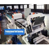 Steel Silo Roll Forming Machine Gear Box Driven On line Crimping
