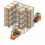 double way entry freezing storage applications Drive In Racking High Density Pallet Storage Double entry for