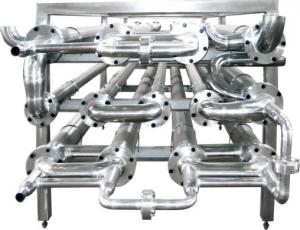 China Customized Size Plate Heat Exchanger Pasteurizer / Food Grade Heat Exchanger on sale