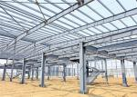 H Section Steel Large Area Commercial Steel Frame Buildings Multi Functional