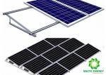 Aluminum Brackets Solar Structure  Panel Racking  / Solar PV Panel Mounting Systems Stable Structure