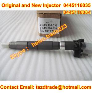 China BOSCH Original and new CR Injector 0445116035 /0445116034 /0 445 116 035/0986435369 Fit VW on sale