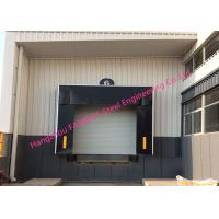 Mechanical Retractable Inflatable Industrial Garage Doors Seals Polyester Fabric Door Shelter