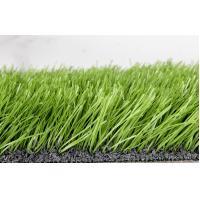 Soccer Decoration Fake Turf Grass / 60mm Dtex11000 Artificial Grass Lawn