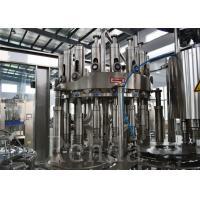 Automatic Pineapple / Orange / Juice Filling Machine Bottled Water Manufacturing Equipment