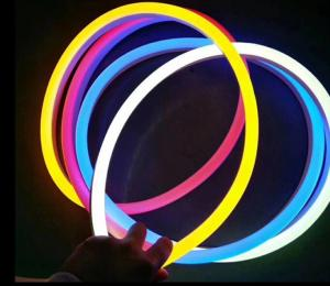 China 24V IP68 Waterproof LED NEON Flexible Strip Lights 5050 RGBW  5000*12mm on sale