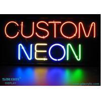 China Restaurant Custom Neon Signs , Soft PVC / Plastic Frame Neon Sign on sale