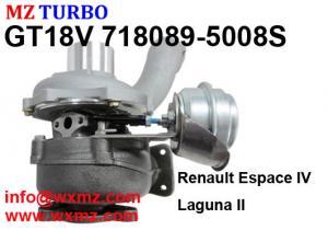 China Garrett turbocharger GT18V 718089-5008S for Renault Espace/Laguna 2.2l diesel engine G9T702 OEM 8200683860 on sale