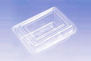 China Food Standard BOPS Plastic Cake Boxes Blister Food Packaging Container on sale