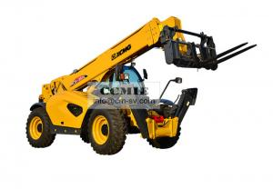 China High Efficiency Telescopic Forklift Truck Standard Auxiliary Hydraulic System on sale