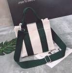 Wholesale Logo Printed New Fashion Simple Cotton Canvas Tote Bag