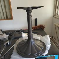 China Vintage Table base Cast Iron Table leg Decorative Table Base Commercial Furniture on sale