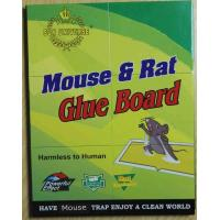 Mouse Glue Trap Board Extra Sticky Rodents and Peanut Butter with 21.5x16.5cm Capture Area