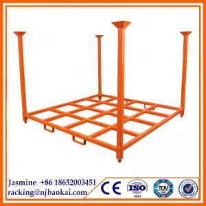 "China 1000kg Load Exported to Brazil 72"" Stacking Rack for Passenger Tyre Storage (1828X1828X1828mm) on sale"