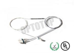 LC UPC Multimode Fiber Optic Cable / Optical Fiber Couplers Splitter