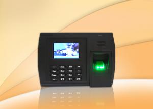 China Free Software Biometric Time Recording System Optional WIFI or GPRS on sale