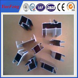 China High quality aluminium extrusion for kitchen cabinet/wood grain aluminium profile on sale