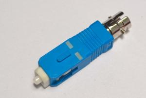 China SC male to ST female fiber hybrid optic adapter on sale