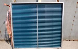 China 1.6MPa Industry / Commercial Air Conditioning System Air Cooled Heat Exchanger With Blue Fin on sale