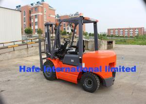 China 3.5T Diesel Forklift Truck With Original Japan 4BG1 Engine And Adjustable Fork on sale