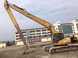 China 21M Long Boom Used Excavator Machine Hyundai R210-5D 600mm Shoe Size on sale